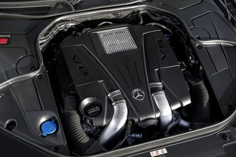 2015 Mercedes S-Class Coupe High Resolution Drivetrain - image 541730