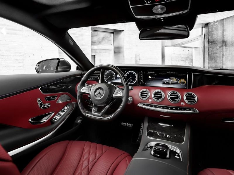 2015 Mercedes S-Class Coupe High Resolution Interior - image 541731