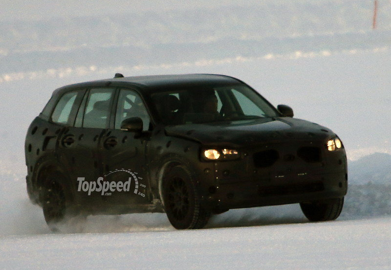 Spy Shots: Pre-Production 2015 Volvo XC90 Caught Testing
