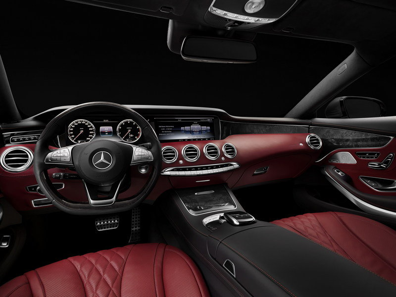 2015 Mercedes S-Class Coupe High Resolution Interior - image 541748