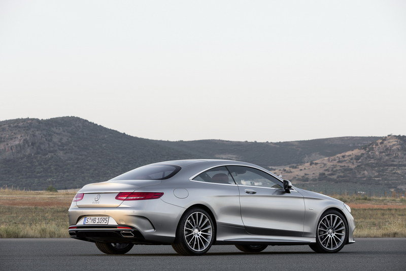 2015 Mercedes S-Class Coupe High Resolution Exterior - image 541771