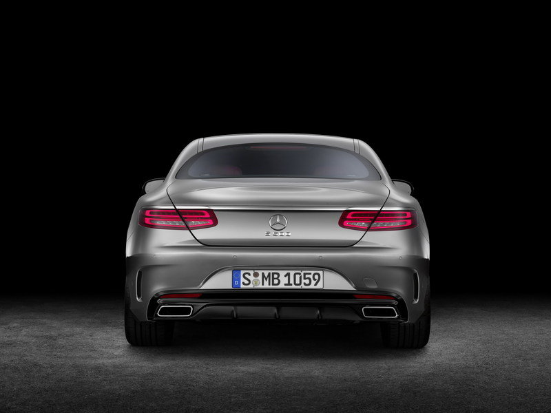 2015 Mercedes S-Class Coupe High Resolution Exterior - image 541741