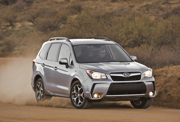 2015 - 2017 Subaru Forester   car review @ Top Speed