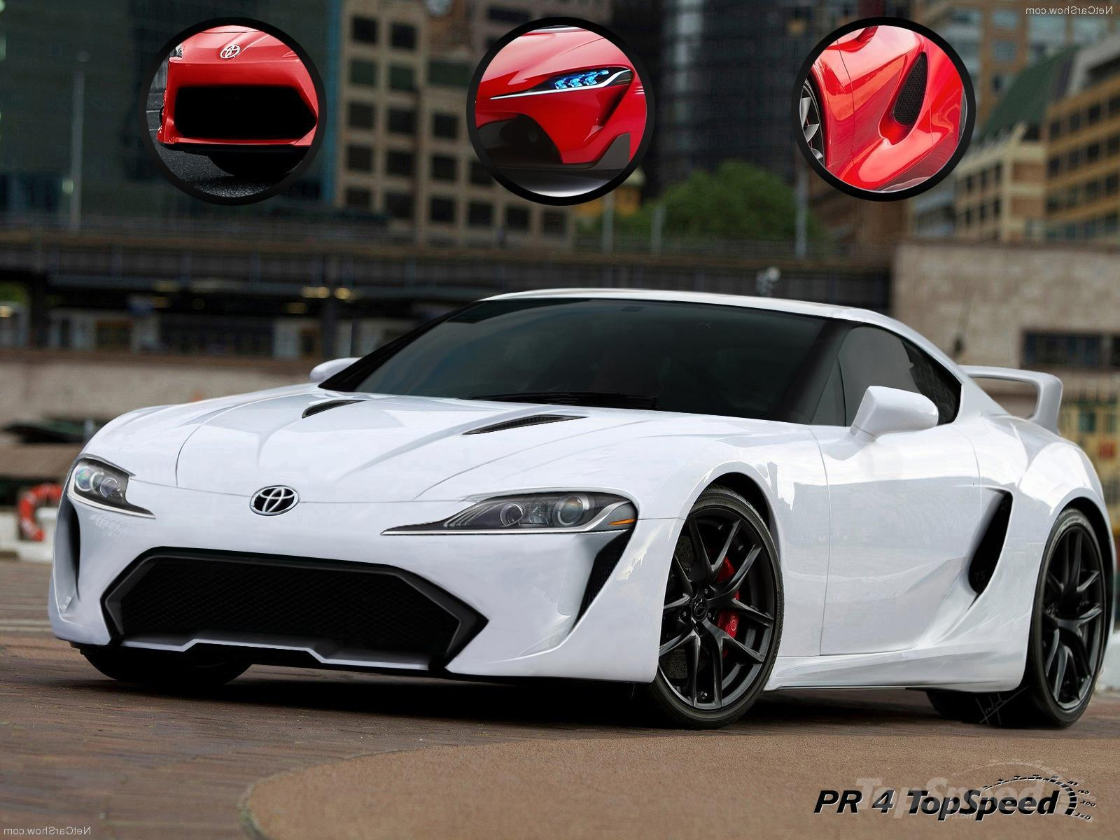 Toyota Supra 2015 Ft1 White