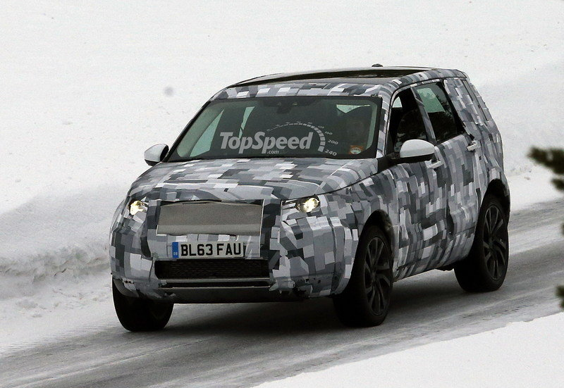 Spy Shots: 2015 Land Rover Baby Discovery Begins Winter Testing
