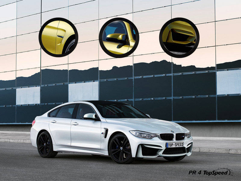 2015 BMW M4 Gran Coupe Exclusive Renderings - image 540662