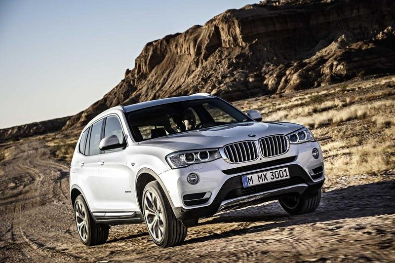 2015 BMW X3 High Resolution Exterior - image 540902