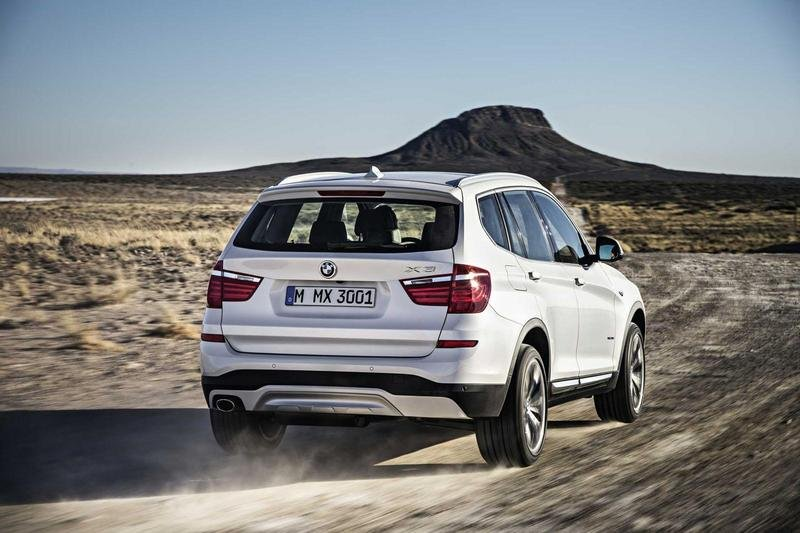 2015 BMW X3 High Resolution Exterior - image 540906