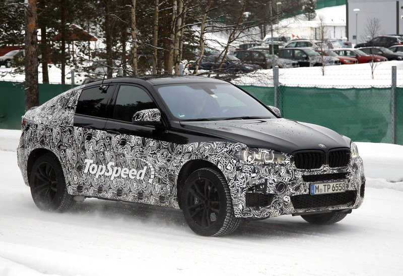 Video: BMW X6M Prototype Runs Around the Nurburgring