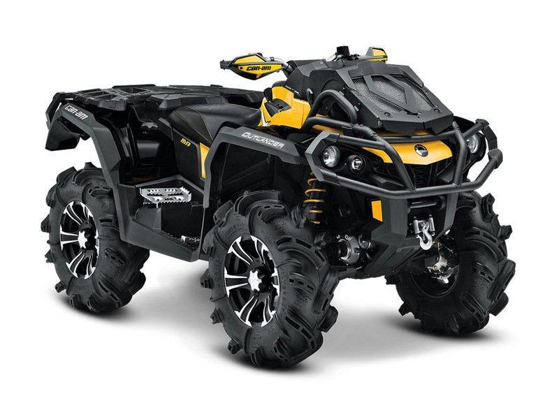 2014 Can-Am Outlander 1000 X Mr | Top Speed