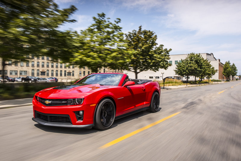 2014 - 2015 Chevrolet Camaro ZL1 High Resolution Exterior - image 543075