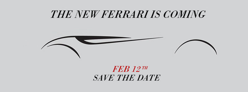 Ferrari Teases 149M Project Once Again