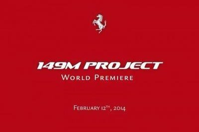 Ferrari Set to Unveil the 149M Project on February 12th