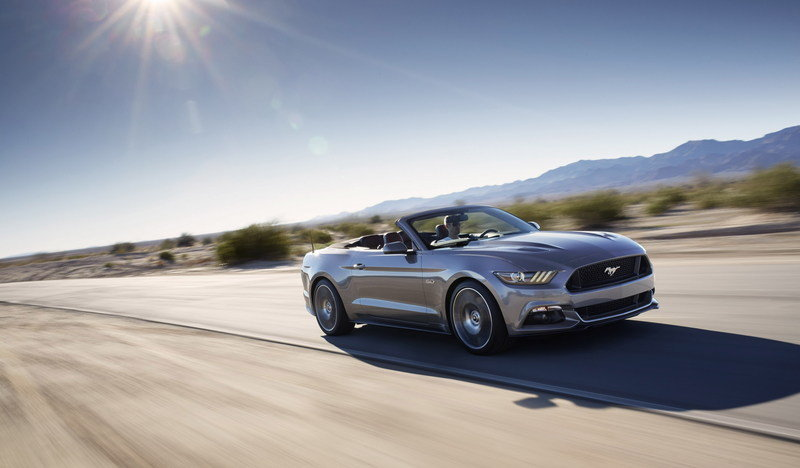 2015 Ford Mustang Convertible High Resolution Exterior Wallpaper quality - image 544054
