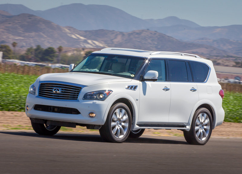 2014 Infiniti QX80 High Resolution Exterior Wallpaper quality - image 543984