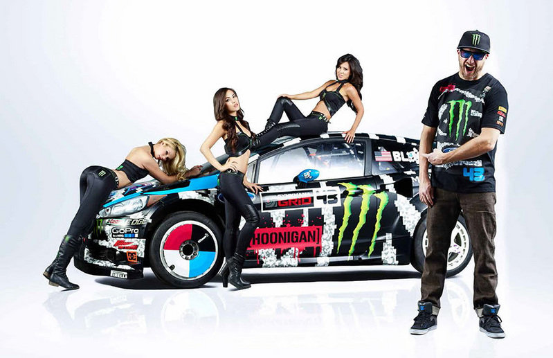 Ken Block S Hoonigan Racing Division Ford Fiesta Shows Off