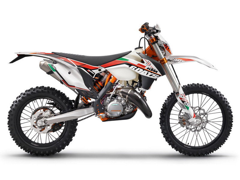 2014 KTM 125 EXC SIX DAYS High Resolution Exterior - image 541851