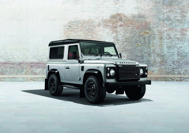 2014 Land Rover Defender Black And Silver Packs