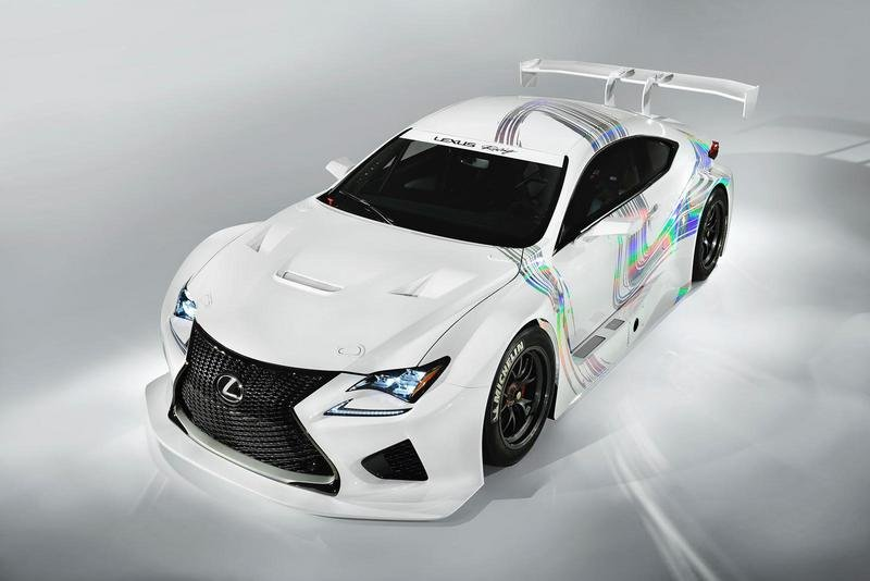 2015 Lexus RC F GT3 Concept High Resolution Exterior - image 543943