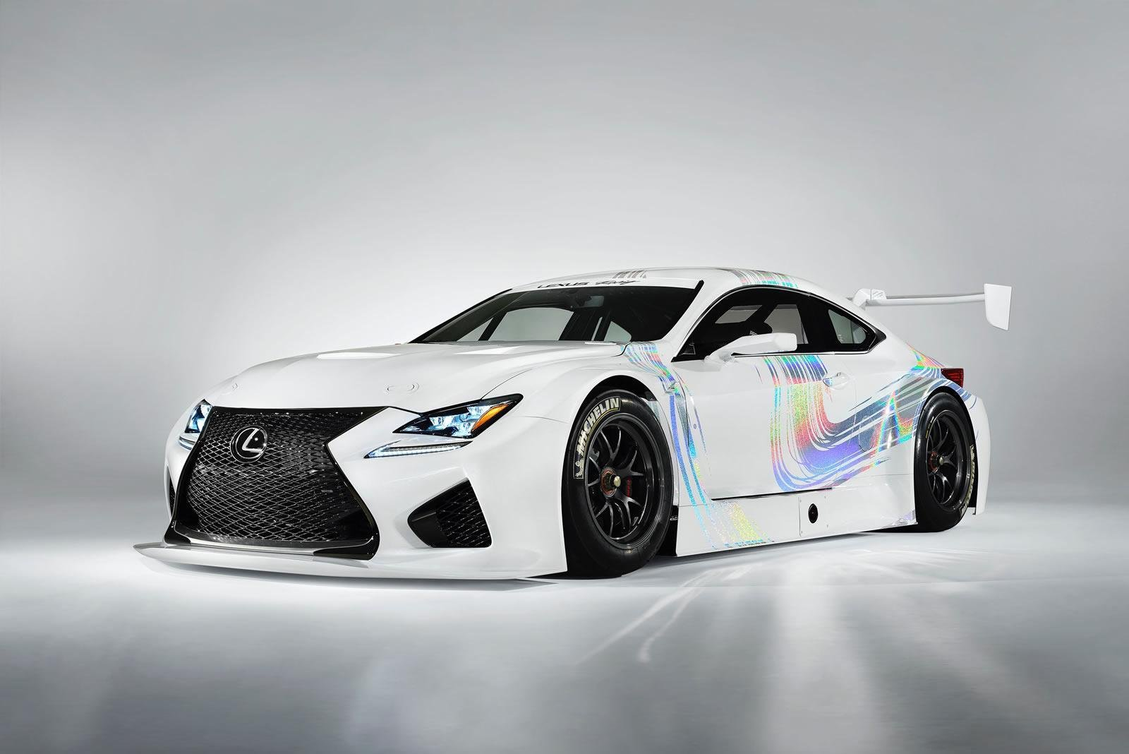 2015 lexus rc f gt3 concept review top speed. Black Bedroom Furniture Sets. Home Design Ideas