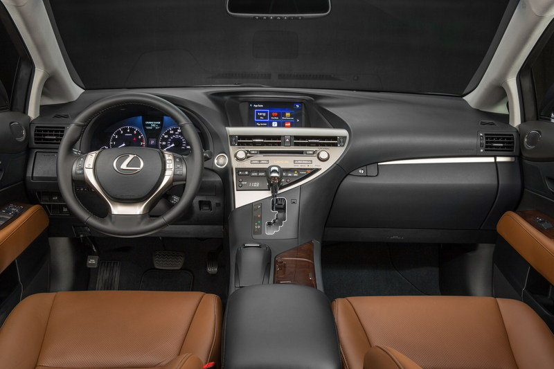 2015 Lexus RX 350 High Resolution Interior - image 543891