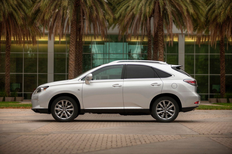 2015 Lexus RX 350 High Resolution Exterior - image 543903