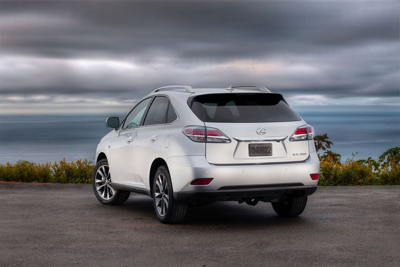 2015 Lexus RX 350 High Resolution Exterior - image 543905