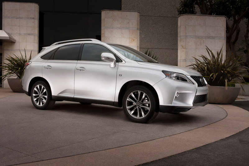 2015 Lexus RX 350 High Resolution Exterior - image 543906