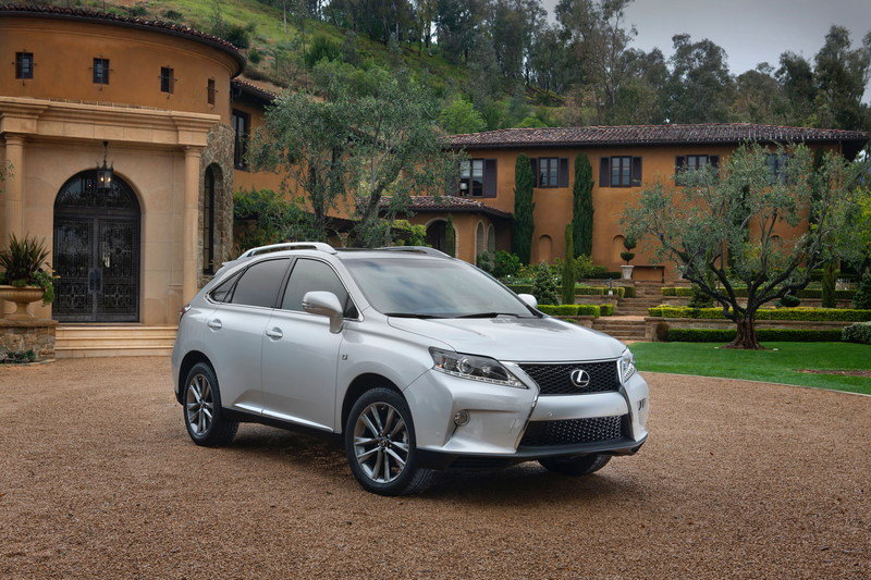 2015 Lexus RX 350 High Resolution Exterior - image 543909