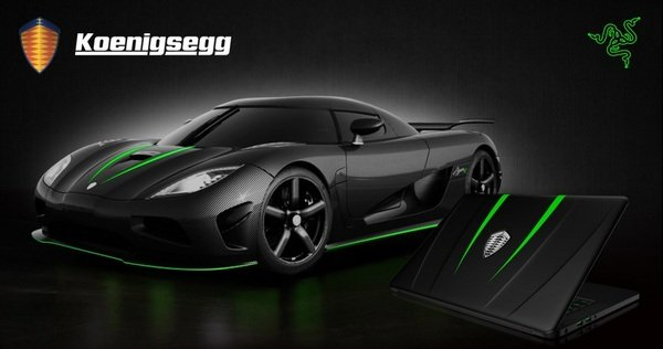 Limited Edition Gaming Laptop By Koenigsegg And Razer
