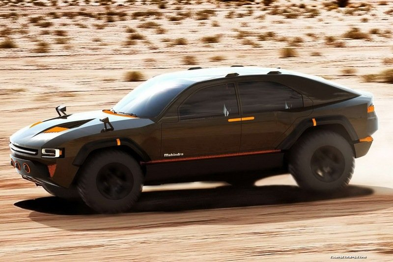 2015 Mahindra Komodo IED Concept High Resolution Exterior - image 543152