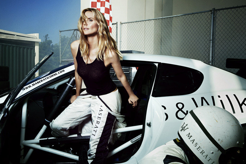 Maserati Picks Heidi Klum to Spice up its Models in Sports Illustrated