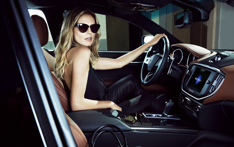 Maserati Picks Heidi Klum to Spice up its Models in Sports Illustrated Interior Models Female - image 543203