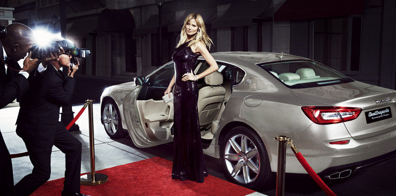 Maserati Picks Heidi Klum to Spice up its Models in Sports Illustrated Exterior Models Female - image 543204