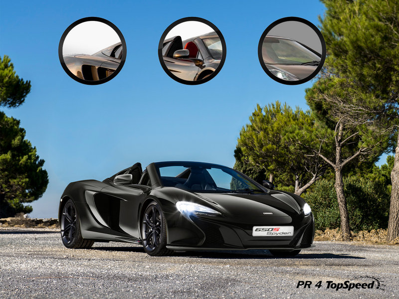 2015 McLaren 650S Spider Exclusive Renderings - image 542543