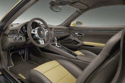 2014 Porsche 911 Turbo Lime Gold by Porsche Exclusive Interior - image 540795