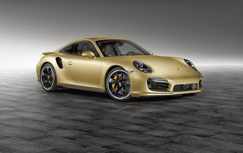 2014 Porsche 911 Turbo Lime Gold by Porsche Exclusive