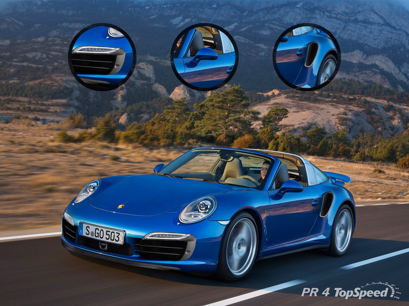 Porsche Claims There is No 911 Turbo Targa, but we Rendered it Anyways
