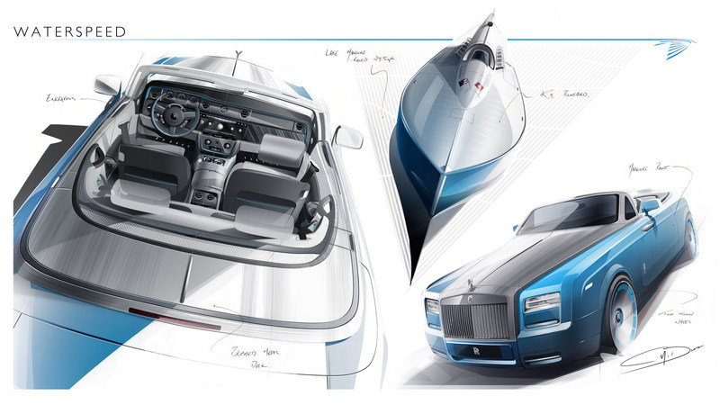 2014 Rolls-Royce Phantom Drophead Coupé Bespoke Waterspeed Collection Exterior Drawings - image 540565