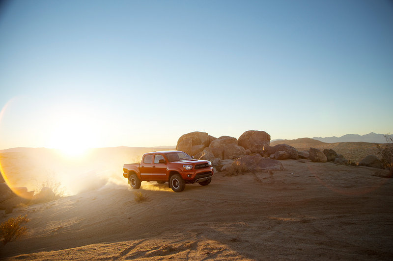 2014 Toyota Tacoma TRD Pro Series High Resolution Exterior - image 541349