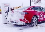 Video: Tesla Model S Breaks Charging-Time Record for a Cross-Country Trip - image 541329