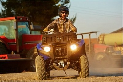 2014 Yamaha Grizzly 700 FI Auto. 4x4 EPS Exterior - image 541418