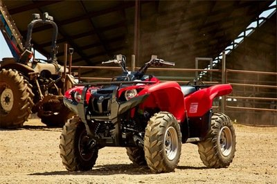 2014 Yamaha Grizzly 700 FI Auto. 4x4 EPS Exterior - image 541422
