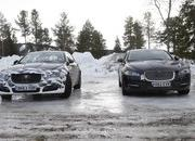 Spy Shots: 2015 Jaguar XJ Caught Next to the Current Model - image 546168