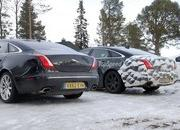 Spy Shots: 2015 Jaguar XJ Caught Next to the Current Model - image 546173