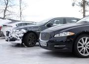Spy Shots: 2015 Jaguar XJ Caught Next to the Current Model - image 546166