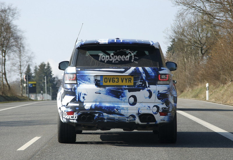 Spy Shots: Land Rover Trots Around the Range Rover Sport RS