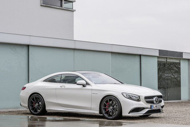 2015 Mercedes-Benz S63 AMG Coupe High Resolution Exterior - image 546462
