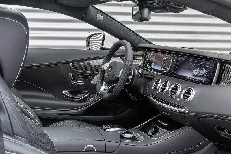 2015 Mercedes-Benz S63 AMG Coupe Interior - image 546465