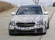 Spy Shots: 2015 Mercedes-Benz C63 AMG Drops Camouflage - image 546957